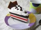 Мыльный кусочек торта